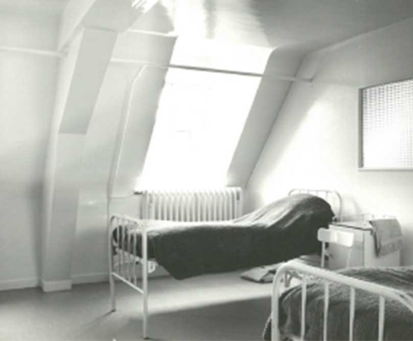 Une chambre de l'hôpital saint jean