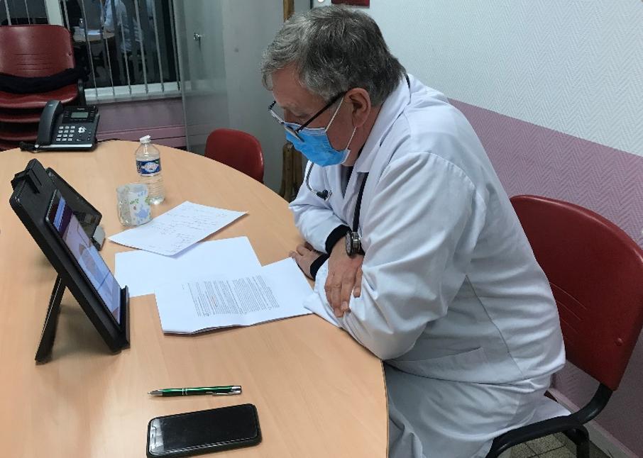 1er webinar à destination des familles des résidents d'EHPAD : la vaccination contre la Covid19